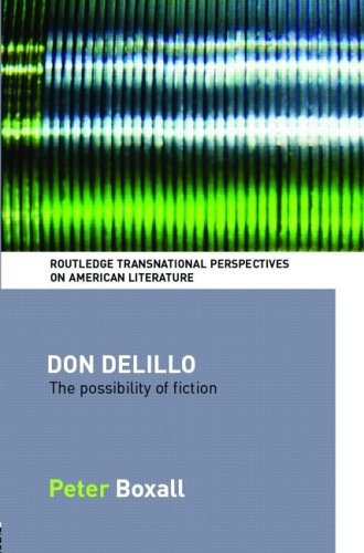 essays about don delillo Don delillo is an american postmodern writer best known for his 1985 novel   don delillo has written and published many short stories, essays, plays, and.