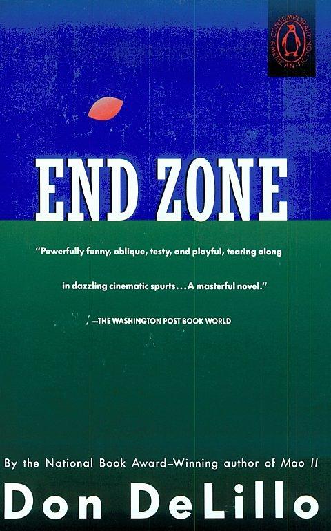 Penguin Book Cover Zone : End zone delillo editions